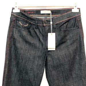 Tory Burch Dark Straight Leg Jeans NWT